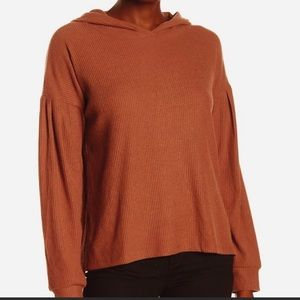 PST by PROJECT SOCIAL T Wren Cozy Rib Hoodie NWT